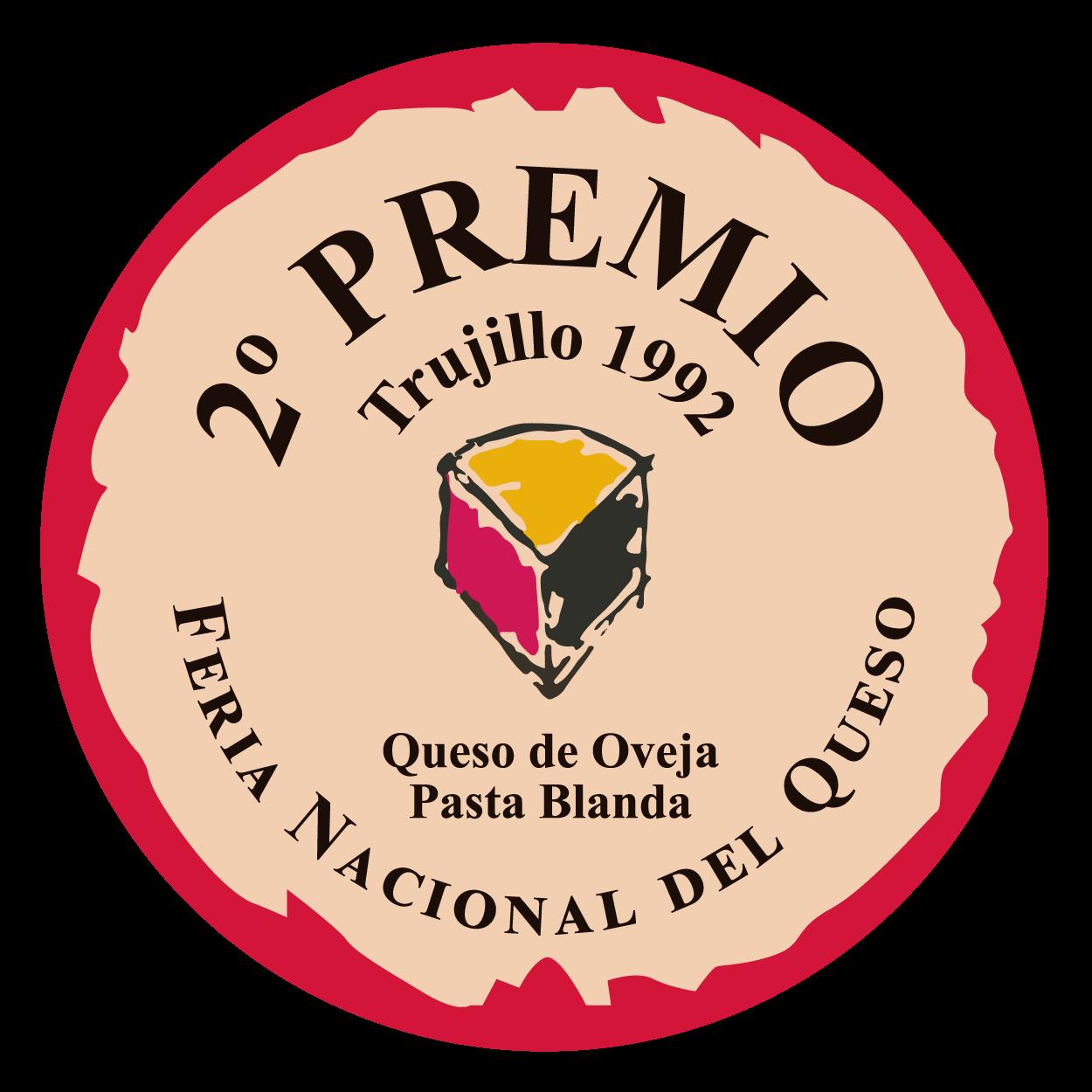 Feria Nacional del Queso de Trujillo <br> 2º premio - Pasta Blanda (1992)