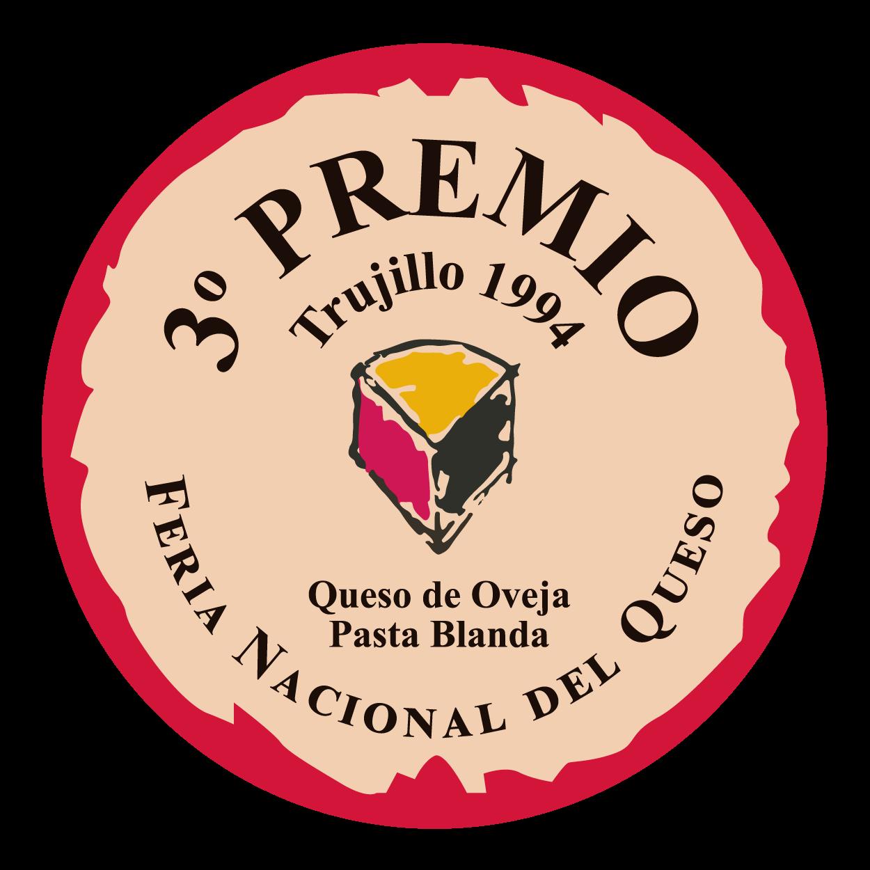 Feria Nacional del Queso de Trujillo <br> 3º premio - Pasta blanda (1994)