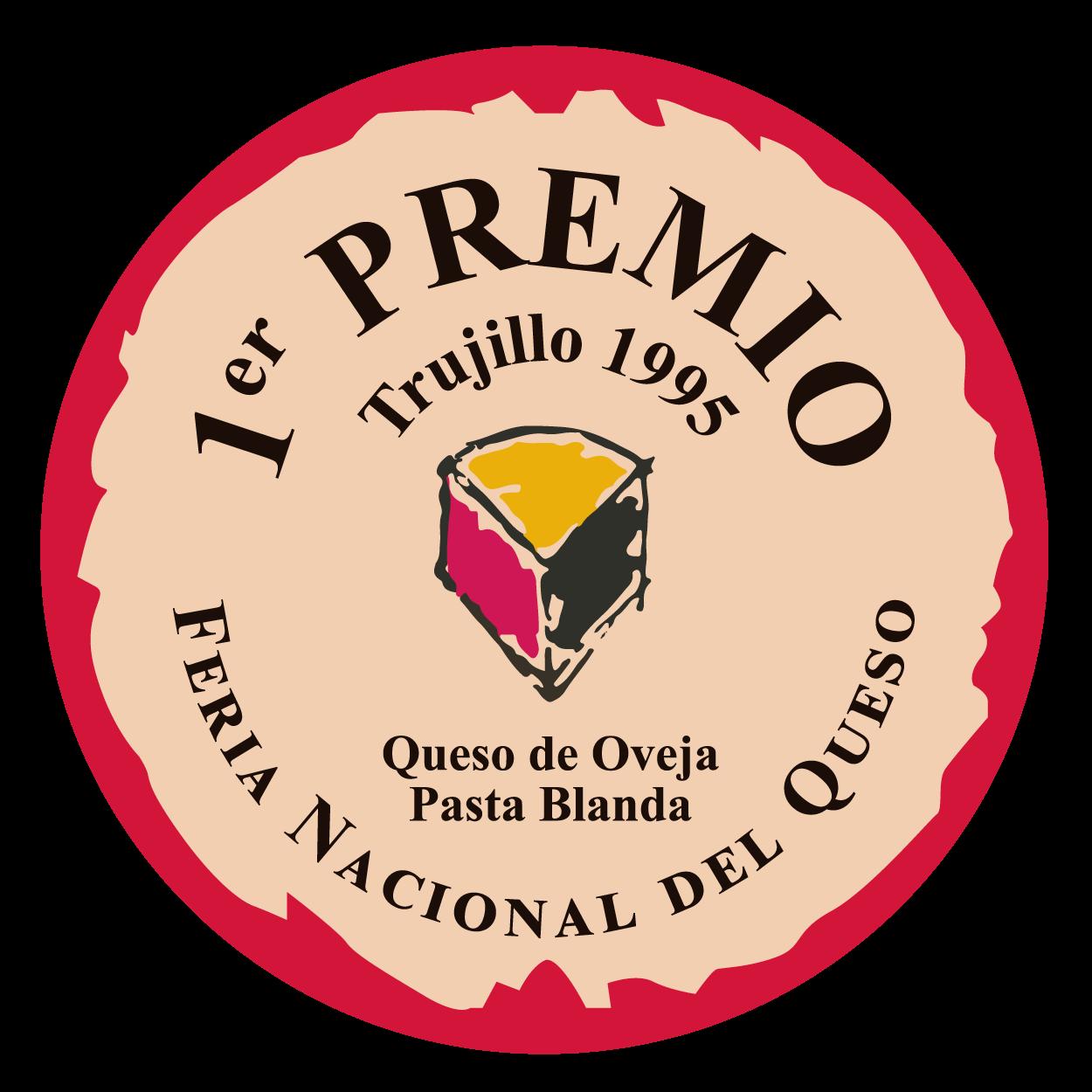 Feria Nacional del Queso de Trujillo <br> 1º premio - Pasta Blanda (1995)