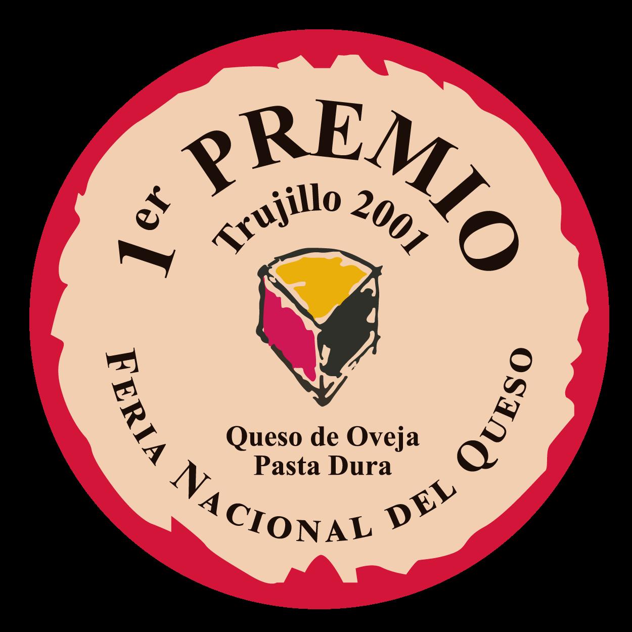 Feria Nacional del Queso de Trujillo <br> 1º premio - Pasta Dura (2001)