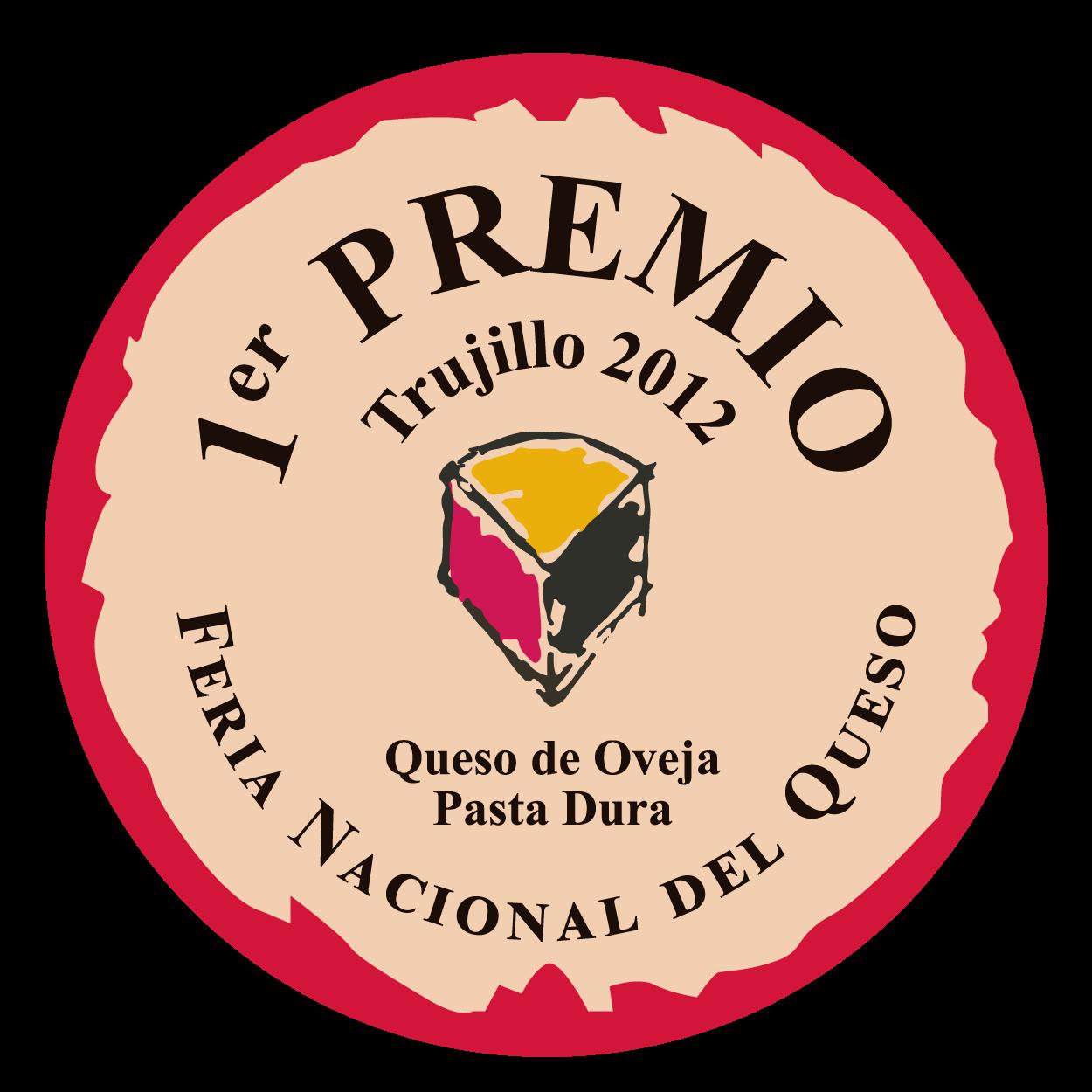 Feria Nacional del Queso de Trujillo <br> 1º premio - Pasta Dura (2012)